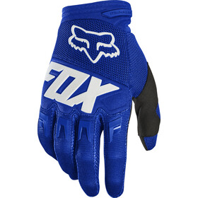 Fox Dirtpaw Race Gloves Men blue/white